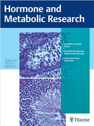 Cover Hormone and Metabolic Research