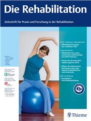 Cover Die Rehabilitation