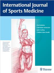 Cover International Journal of Sports Medicine