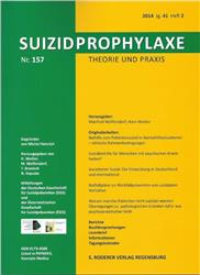 Cover Suizidprophylaxe