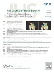 Cover Journal of Hand Surgery - Am.Vol.
