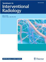 Cover Seminars in Interventional Radiology