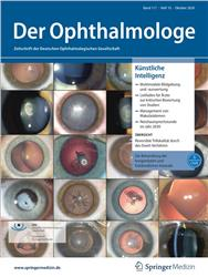 Cover Der Ophthalmologe