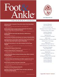 Cover Foot and Ankle International
