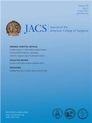 Cover Journal of the American College of Surgeons