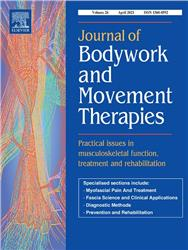 Cover Journal of Bodywork and Movement Therapies
