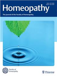 Cover Homeopathy