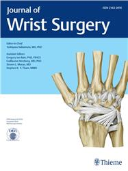 Cover Journal of Wrist Surgery