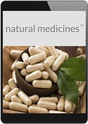 Cover Natural Medicines Database