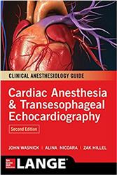 Cover Cardiac Anesthesia and Transesophageal Echocardiography