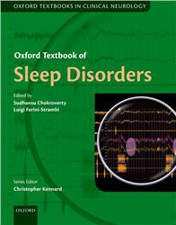 Cover Oxford Textbook of Sleep Disorders