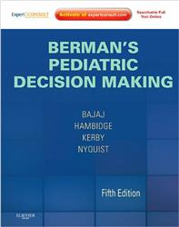 Cover Berman's Pediatric Decision Making