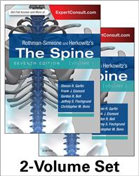 Cover Rothman and Simeone The Spine, 2-Volume Set