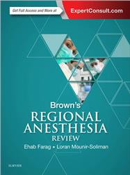 Cover Brown's Regional Anesthesia Review