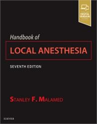 Cover Handbook of Local Anesthesia