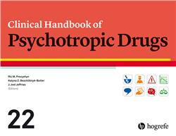 Cover Clinical Handbook of Psychotropic Drugs