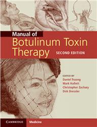 Cover Manual of Botulinum Toxin Therapy
