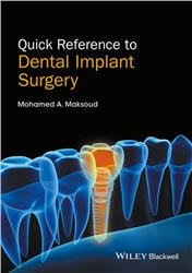 Cover Quick Reference to Dental Implant Surgery