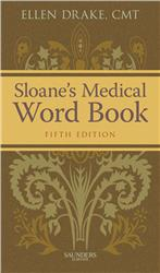 Cover Sloane`s Medical Word Book