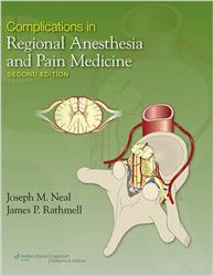 Cover Complications in Regional Anesthesia and Pain Medicine