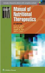 Cover Manual of Nutritional Therapeutics