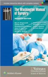 Cover The Washington Manual of Surgery