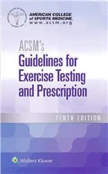 Cover ACSM's Guidelines for Exercise Testing and Prescription