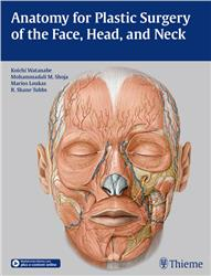 Cover Anatomy for Plastic Surgery of the Face, Head, and Neck