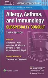 Cover Washington Manual Allergy Subspecialty Consult