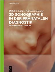Cover 3D-Sonographie in der pränatalen Diagnostik