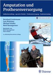 Cover Amputation und Prothesenversorgung / + Online-Version in der eRef