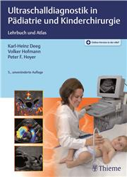 Cover Ultraschalldiagnostik in Pädiatrie und Kinderchirurgie