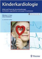 Cover Kinderkardiologie  + Online-Version in der eRef