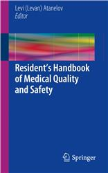 Cover Residents Handbook of Medical Quality and Safety