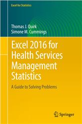 Cover Excel 2016 for Health Services Management Statistics