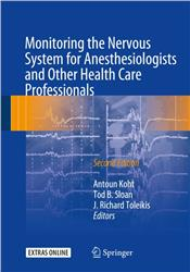 Cover Monitoring the Nervous System for Anesthesiologists and Other Health Care Professionals