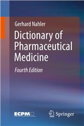 Cover Dictionary of Pharmaceutical Medicine