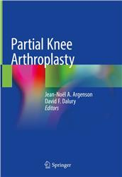 Cover Partial Knee Arthroplasty