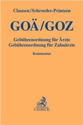 Cover GOÄ / GOZ