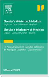 Cover Elsevier's Wörterbuch Medizin / Elsevier's Dictionary of Medicine