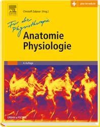 Cover Anatomie Physiologie für die Physiotherapie