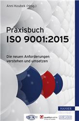 Cover Praxisbuch ISO 9001:2015