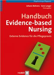 Cover Handbuch Evidence-based Nursing