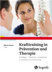 Cover Krafttraining in Prävention und Therapie