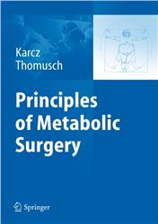 Cover Principles of Metabolic Surgery