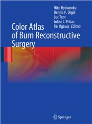 Cover Color Atlas of Burn Reconstructive Surgery