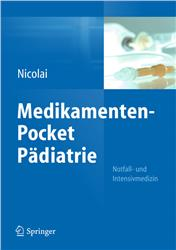 Cover Medikamenten-Pocket Pädiatrie