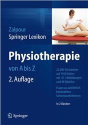 Cover Springer Lexikon Physiotherapie / in 2 Bänden