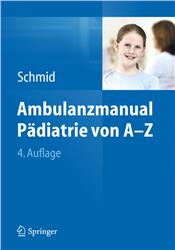 Cover Ambulanzmanual Pädiatrie von A-Z