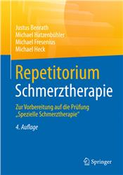 Cover Repetitorium Schmerztherapie